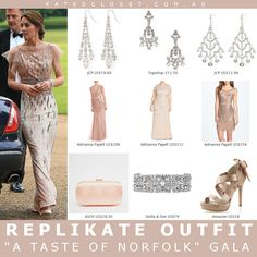 Kate Middleton, Duchess of Cambridge Outfit Inspiration. RepliKate the 'EACH gala' outfit for less! Click to shop the look