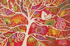 Tree of Wisdom Print by Karen Fields 13 x by karenfieldsgallery print on Etsy 30.00