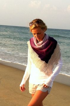 Elizabeth Shawl - Deep South Fibers