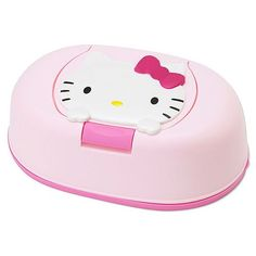Hello Kitty 80 pcs Wet Wipes w/ Case Sanrio this would be awesome at the shelter lol