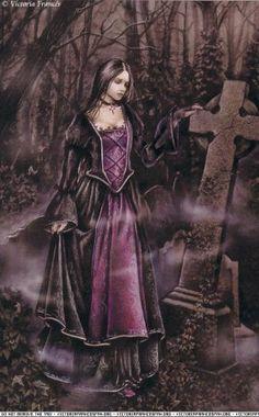 """Victoria Francés - Favole 1 - Lágrimas de piedra. """"Marquise adoraba contemplar aquellos ojos pétreos bajo la luz mortecina de un candil..."""""""