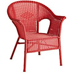 Pier 1 Casbah Chair - Red