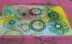 adding spirograph patterns