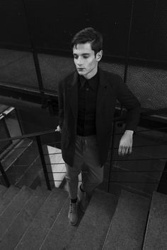 Photography | Lea Gendrot Styling | Solene Martinau Model | Victor @EliteModelManagement Fashion | Han Kjobenhavn, Drôle de Monsieur