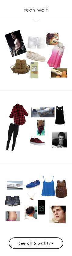 """""""teen wolf"""" by stilesmccall35 ❤ liked on Polyvore featuring ONLY, TOMS, Billabong, Tone It Up, Hallhuber, Vans, Peace of Cloth, Abercrombie & Fitch, Club L and Uniqlo"""