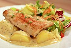 Manus Küchengeflüster: Senf-Dill-Sauce zu gebratenem Forellenfilet