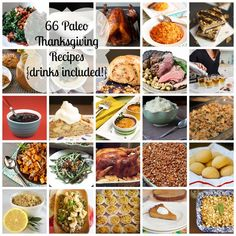 66 Thanksgiving Recipes (Paleo).