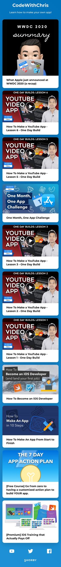 Learn how to make your own app!  👨💻 Helping beginners learn Swift and iOS app development.  ⚡️ Check out my 7 Day App Action Plan below to get started! How To Get, How To Plan, Ios App, App Development, Get Started, Swift, Youtubers, Landing, The Creator
