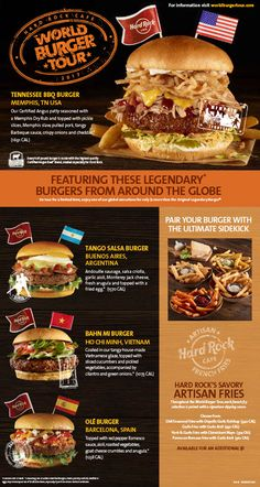 The best part of the year is finally here, National Burger Month. Every May we celebrate National Burger Month with Bbq Burger, Hamburgers Gastronomiques, Burger Menu, Burger Restaurant, Gourmet Burgers, Crazy Burger, Good Burger, Beef Kabob Recipes, Burger Recipes