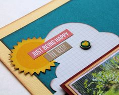 Scrapbook Layout Simple Stories