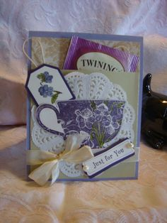 Tea Shoppe Birthday Paper Creations Workshop 28th Jan 12