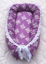 Babynest, lila