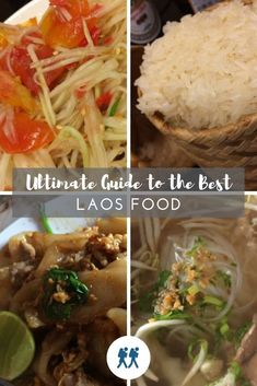 From superb Laos coffee to French Baguettes, Lao Cuisine will wow you and satiate you at the same time, Check out our list of Laos Food and Drink menu items that you MUST try when travelling in Laos.  Foodie | Menu | Must Eat | #Laos #Travel