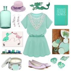 Color Challenge: mostly mint
