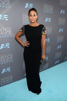 C Social Front. Critics Choice Awards 2016 - Tracee Ellis Ross