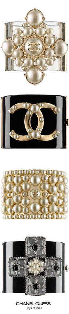 Chanel Cuffs...available on Chanel♥✤ | Keep Smiling | BeStayBeautiful