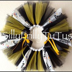 Pittsburgh Steelers Over the Top TuTu  Custom by SillyFrillyTuTus, $28.00