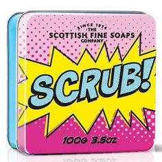 Soap In A Tin - Scrub 100g : Scottish Fine Soaps, Luxury Bath and Body Specialists
