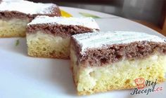 """Apple pudding cake """"day and night"""" Easy Cake Recipes, Baking Recipes, Dessert Recipes, Tuna Cakes, Food Cakes, Apple Deserts, German Cake, Cake Day, Czech Recipes"""