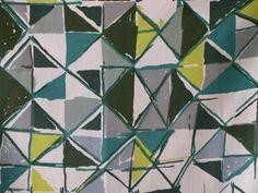 Vintage 1960s David Whitehead Fabric 'Toccata'