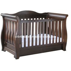 BABY FURNITURE SLEIGH COT BED