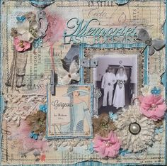 Memories Last Forever **DT work for Scrap Around the World & Tresors de Luxe ** - Scrapbook.com