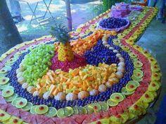 Awesome fruit art