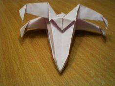 Star Wars Craft - origami X-Wing Fighter - put instructions in husbands stocking w/ paper, and keep him busy all day! LOL