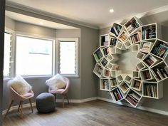 There is absolutely nothing that can be a companion, a friend other than a good book! So, help us build you one easily with out DIY bookshelf plans. Find and save ideas about Bookshelf diy in this article. Diy Bookshelf Design, Diy Bookshelf Plans, Creative Bookshelves, Wall Bookshelves, Crate Bookshelf, Diy Bookcases, Cheap Bookshelves, Book Shelves, Fake Walls