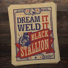 Here's another block print inspired piece for @black.stallion.bsx     #graphicdesign #illustration #draw #drawing #art #creative #sketch #sketchbook #illustrator #artist #adobe #adobeillustrator #vector #design #blockprint #linocut #printmaking #procreate #welding #welder