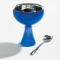 Miriam Mirri 8.45 oz. Big Love Ice Cream Bowl and Spoon