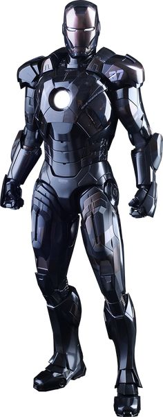 Hot Toys Iron Man Mark VII Stealth Mode Version Sixth Scale Figure