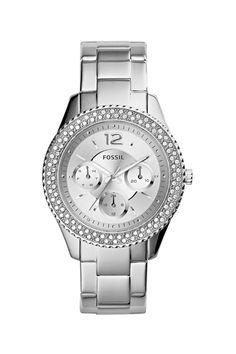 Fossil Stella dames horloge ES3588   JewelandWatch.com