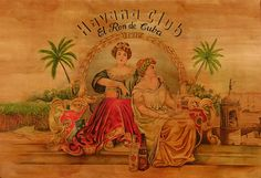 [Cuba] Peinture murale Havana Club - Ron de Cuba