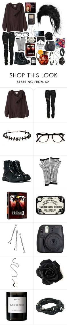 """""""casual date~"""" by music667 ❤ liked on Polyvore featuring Étoile Isabel Marant, Denim of Virtue, Hot Topic, Nasty Gal, Forever 21, Conair, Fuji, Andrea Fohrman, Byredo and King Baby Studio"""