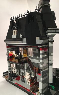 The Addams Family Mansion LEGO Ideas concept