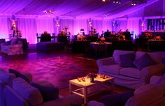 Tired of weddings with the same old reception layout? The Bordner is large enough to accommodate comfortable lounge seating with cocktail tables to truly make your reception feel like a party!