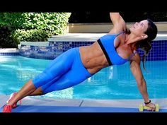28-min Fat Blasting, Total Body Workout- Full Body Workout With Dumbbells 300 Calories - YouTube