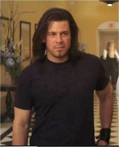 love this look! Seriously though the man is gorgeous w/ long hair or short. Christian Kane, Beautiful Blue Eyes, Beautiful Men, Chris Kane, Jerrod Niemann, Secondhand Lions, Timothy Hutton, Shawn Spencer, Into The West
