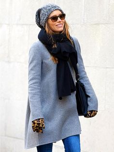 Great walking in the city coat, hat and scarf.  Plus the gloves - which my sister would love.