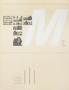 TM SGM RSI, Typografische Monatsblätter, issue 3, 1989. Cover designer: Heinrich Fleischhacker