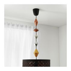 SÄTTRA Decoração p/conj. cabos, conj.5, contas de plástico, cor de cobre - contas de plástico/cor de cobre