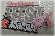 Hallo Allemaal, Leuk dat jullie weer even komen kijken. Vandaag laat ik jullie een verjaardags kaartje zien. Is hij niet schattig? ... Diy Cards, Happy Birthday, Joy, Frame, Crafts, Design, Happy Aniversary, Happy Brithday, Manualidades
