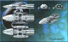 Battlestar Galactica Ships | think we kinda left battlestar the actual series at lvl 10 when the ...