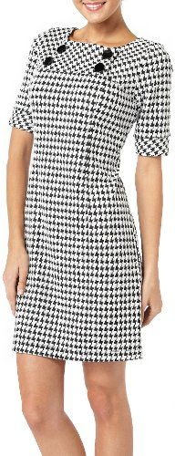 Rabbit Rabbit Elbow Sleeve Houndstooth Dress BLACK/WHITE 8 Rabbit Rabbit,http://www.amazon.com/dp/B00EUZVM5S/ref=cm_sw_r_pi_dp_Q50ysb0MC0ZPG64Y