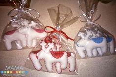 Świąteczne zawieszki z filcu #10 - Mama-Kreatywna
