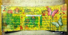 ATC folder by Tusia Lech