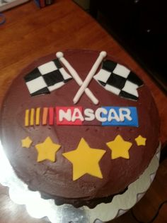 I made this for our Daytona 500 party 2013