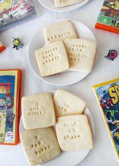 SpongeBob SquarePants Quote Sugar Cookies || The Small Adventurer