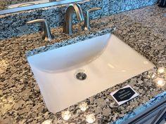Upgraded Bathroom Sink - Square Undermount